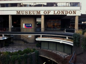 The outside of the Museum of London
