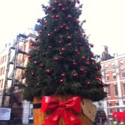 Covent Garden at Christmas: Lights and Lego