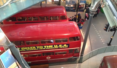 On the Buses: London Transport Museum