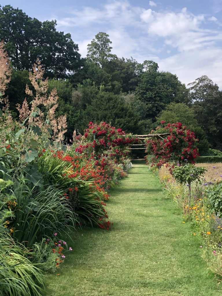 Photo of gardens at Ightham Mote