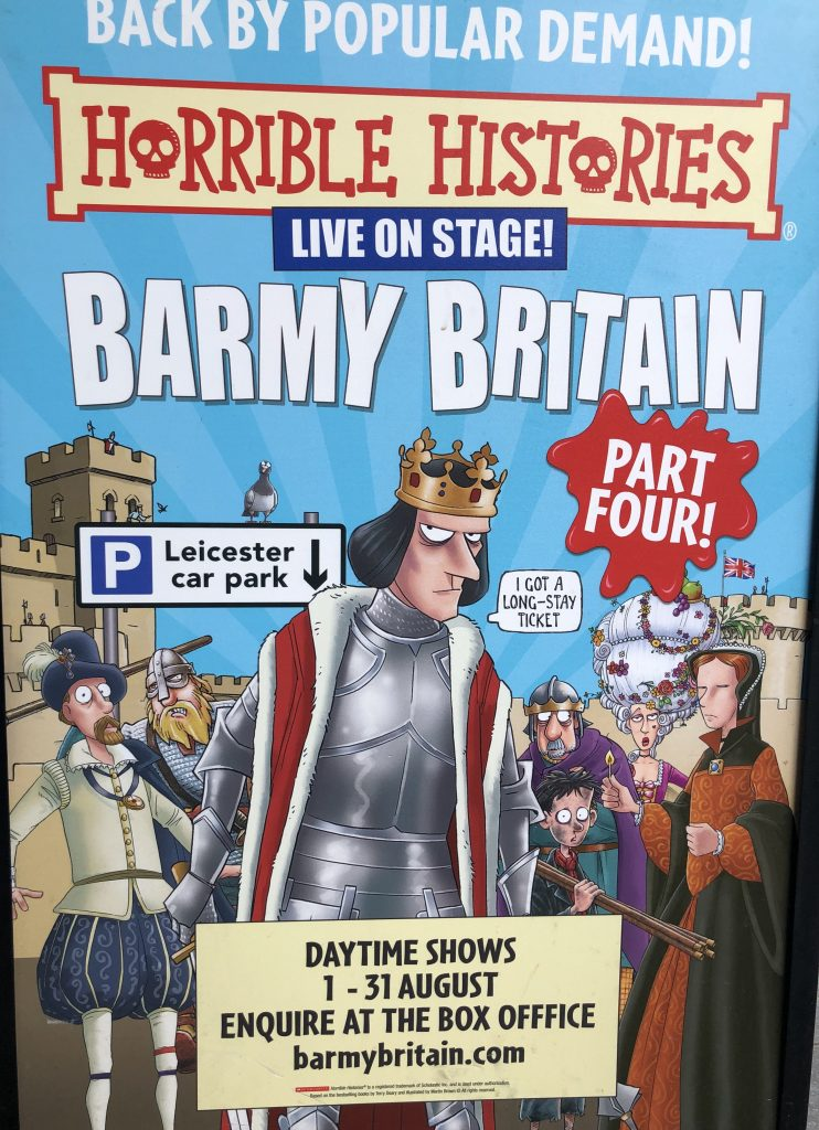 Poster for Horrible Histories